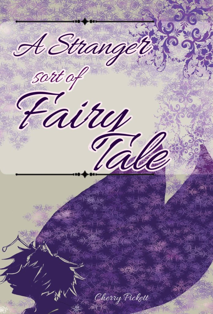 The cover for A Stranger Sort of Fairy Tale, which explores gender identity to some degree.