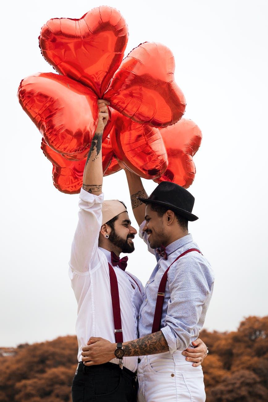"""These two gay men may feel pressure to get married and have children, as homosexual love becomes more """"reproductive."""""""